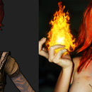 Here is my Lilith from Borderlands make up transformation!