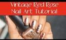 DIY: Vintage Rose Nail Art Tutorial