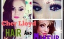 Cher Lloyd Inspired hair and makeup - Re-uploaded