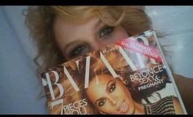 Beyonce's Sexy Cover Eyes tutorial( Harper's Bazaar Nov. 2011 cover)