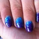 Changing colour nail varnish
