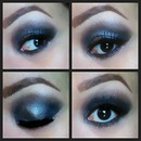 Smokey eye makeup