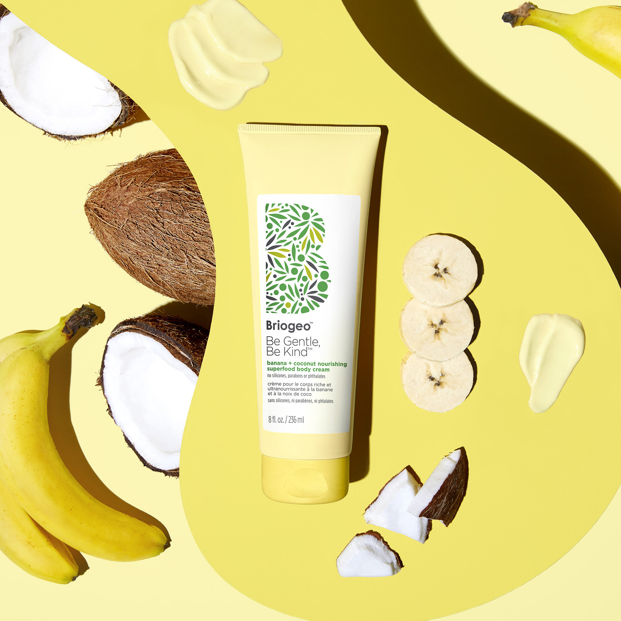 Alternate product image for Be Gentle, Be Kind Banana + Coconut Nourishing Superfoods Body Cream shown with the description.