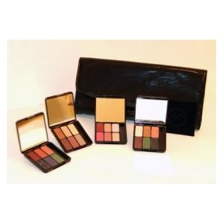 Eve Pearl 4 Eye Palettes (24 Eye Colors) w/Evening Clutch