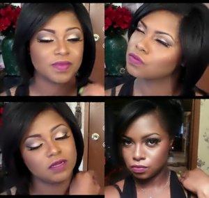 Instagram @glamorousleigheje & see how I got this look on YouTube @glamorousleigheje