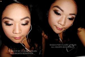 My take on smokey eyes :>
