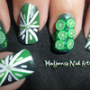 3D Cute Green Limes Fimo Nail Art!