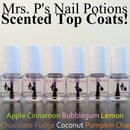 Mrs. P's Nail Potions: Scented Top Coats review