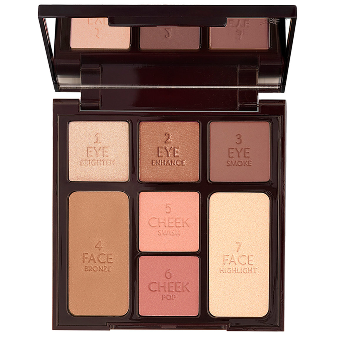 Charlotte Tilbury Instant Look in a Palette Stoned Rose alternative view 1 - product swatch.