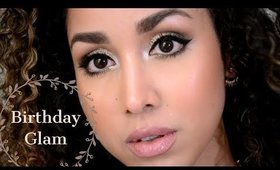 Birthday Glam Makeup Tutorial!