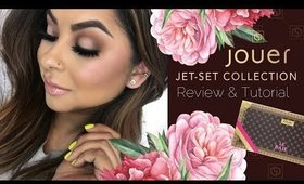 JOUER JET-SET COLLECTION REVIEW & TUTORIAL + LIP KIT SWATCHES