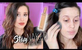 Urban Decay Stay Naked Foundation Review - Check In's & Demo