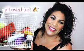 EMPTIES! PRODUCTS I'VE USED UP | queencarlene
