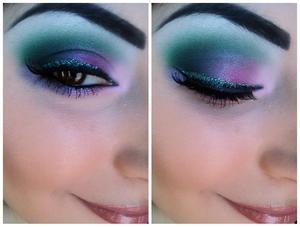 Makeup on myself (: