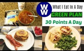 WHAT I EAT IN A DAY ON WW GREEN PLAN | WEIGHT WATCHERS