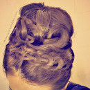 Tutorial:  Knotted, Never-Ending French Braid Sock Bun!