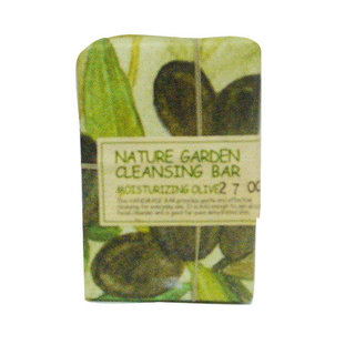 The Face Shop Nature Garden Cleansing Bar - Moisturizing Olive