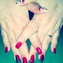 Red Nails/Christmas Nails