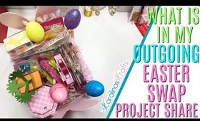 Outgoing Easter Swap! What to Make for Easter Happy Mail, 10 Days of Easter Happy Mail DAY 10