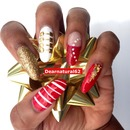 Christmas Nails by Dearnatural62