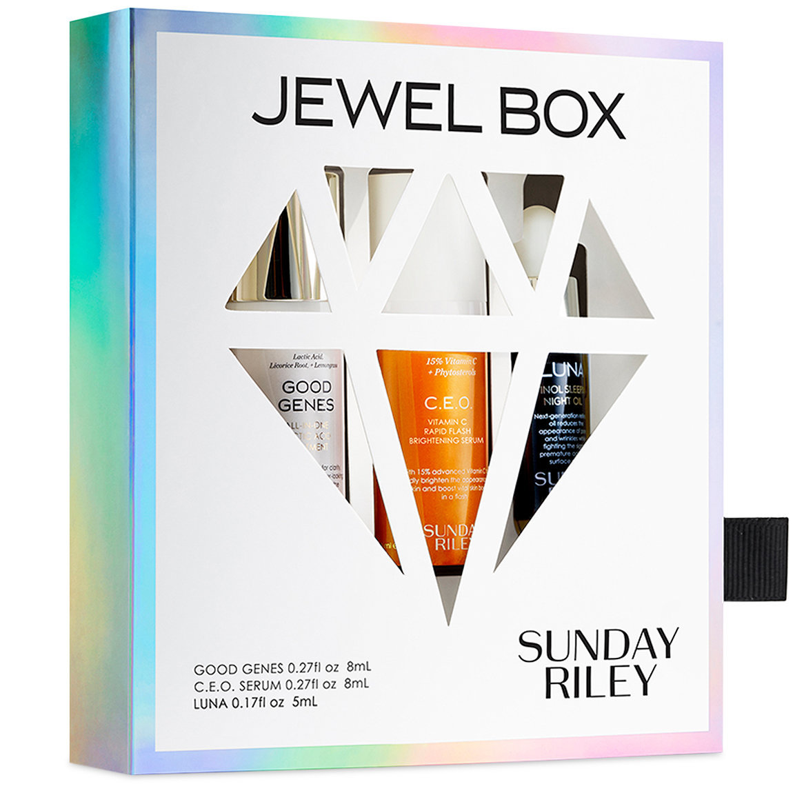 Sunday Riley Jewel Box product swatch.