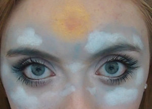 Today the sky is the limit with my sky inspired makeup!