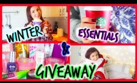 ♥ Winter Essentials! + 1K Subscribers/Holiday GIVEAWAY!!! ♥