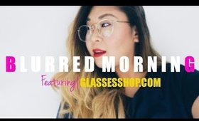 Blurred Mornings featuring Glassesshop.com | Hiiyooitscat