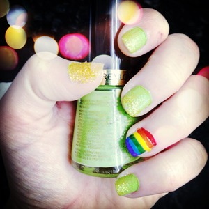 Was inspired by cutepolish to make these :)