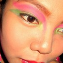 Tulip Inspired Eye Makeup