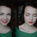 Neutral graduation makeup