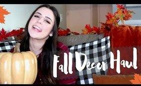 Fall Decor Haul | Target, Homegoods, Michael's