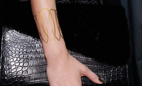 24k Gold Tattoos: Bright Idea or Bad Bling?