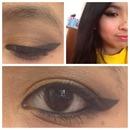 Bronze Eyemakeup