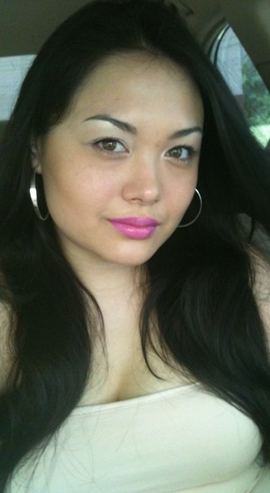 Bright eye with a bright pink lip. One of my fav looks.