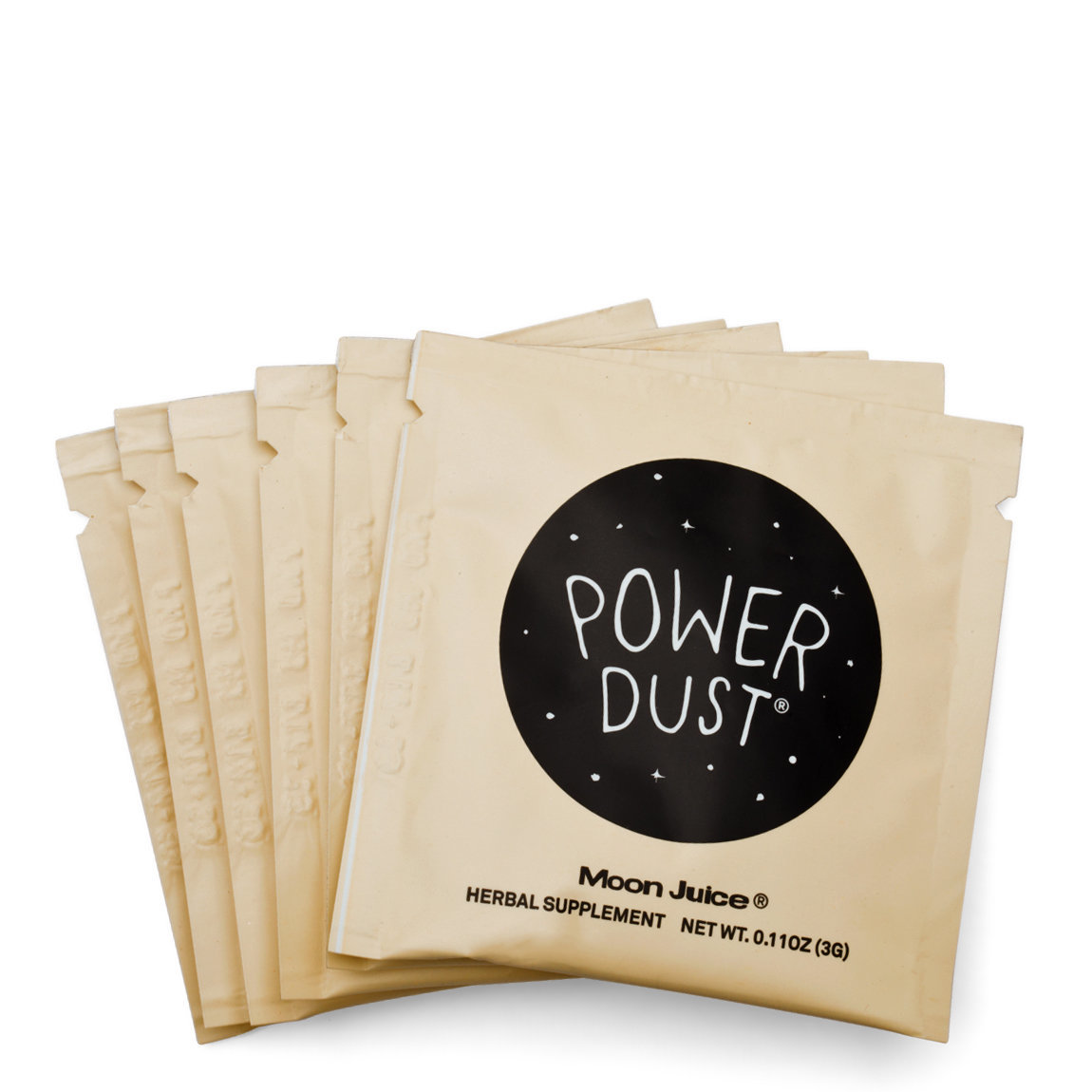 Moon Juice Power Dust Sachets product smear.