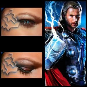 Superhero Makeup Week 10/13