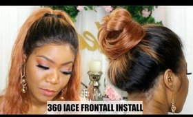 360 LACE FRONTAL WIG INSTALL | CHINALACEWIG | JULEEN FORBES