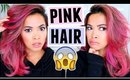 I DYED MY HAIR PINK!