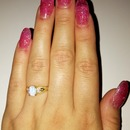 Clear pink Acrylics