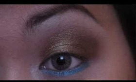 Bronze and Blue