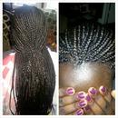 Client Hair Braids