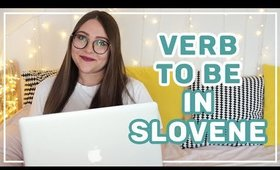 How to Conjugate the VERB TO BE in Slovene   Learn Slovene with Sandra