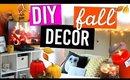 DIY Fall Room Makeover! $20 Headboard + Cozy Decor Ideas!