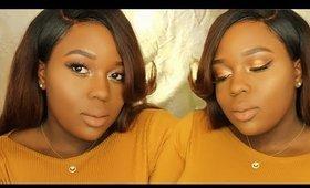 Brown Sugar Baddie Makeup Look | Melanin Goddess
