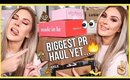 My BIGGEST PR Unboxing Haul Ever... wow 😅💸 & GIVEAWAY!
