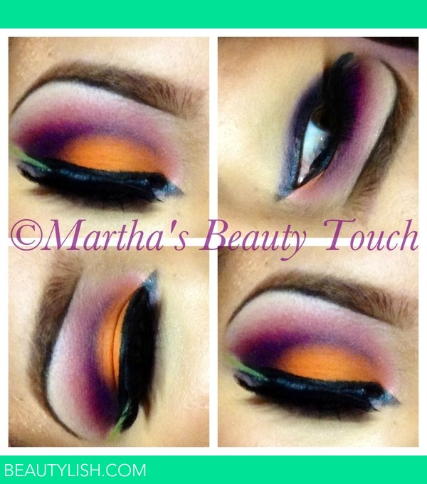 Orange And Purple Eyeshadow Martha Fs Photo Beautylish
