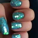 Mermaid Scale Nails