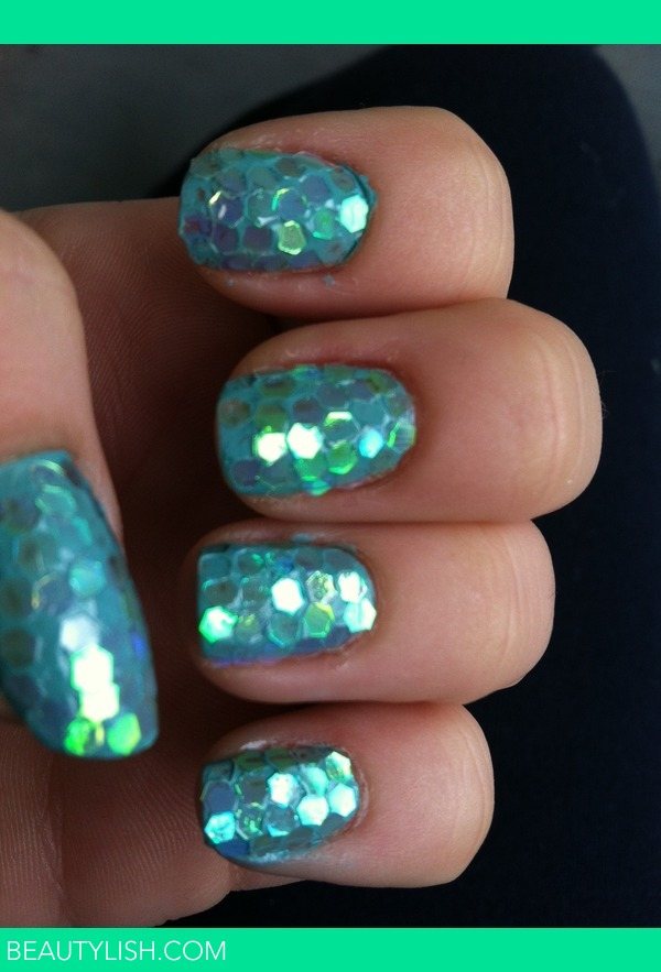 Mermaid Scale Nails Raechel Ws Photo Beautylish