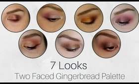 7-Day Color Story: Two Faced Gingerbread Palette | Shop My Stash
